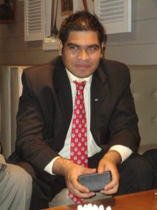 Prashant Lallah Portrait