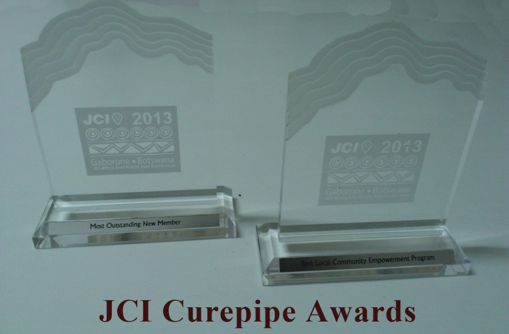 JCI Curepipe Awards at Area Conference